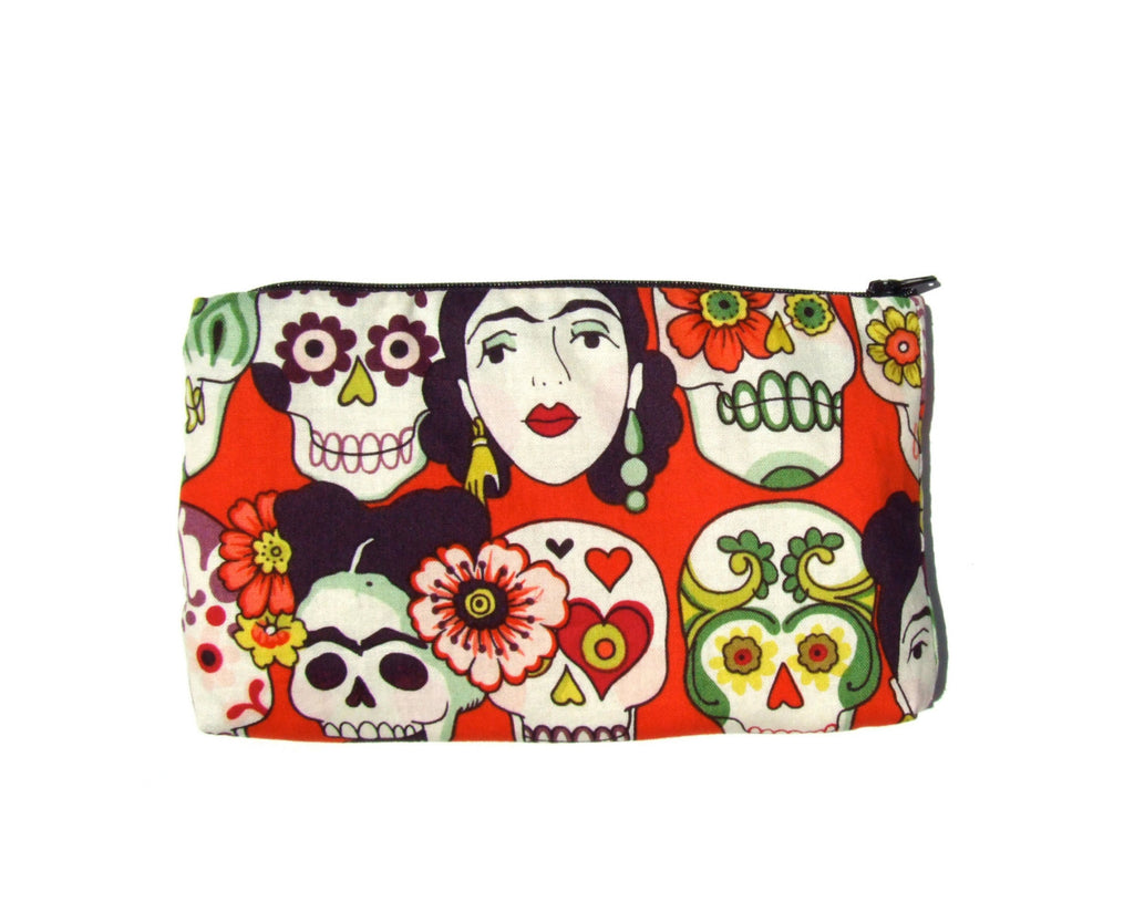 Frida and Skulls Wallet #W800