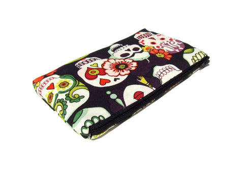 Sugar Skulls and Frida Wallet #W801