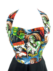 Pinup Full Circle Classic Horror Monsters Dress #D-FS712