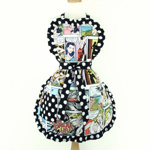 Pinup Comic Strip Apron # A-789