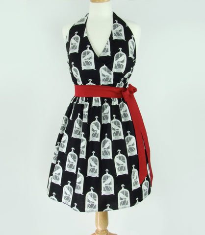 "The Raven"" Vintage Inspired   Dress #AW-TR432"