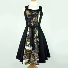 Load image into Gallery viewer, Edgar Allen Poe Dress /  Nevermore Dress #DSCF4324