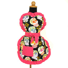 Load image into Gallery viewer, Mexican Sugar Skulls Girls Apron #A-G435