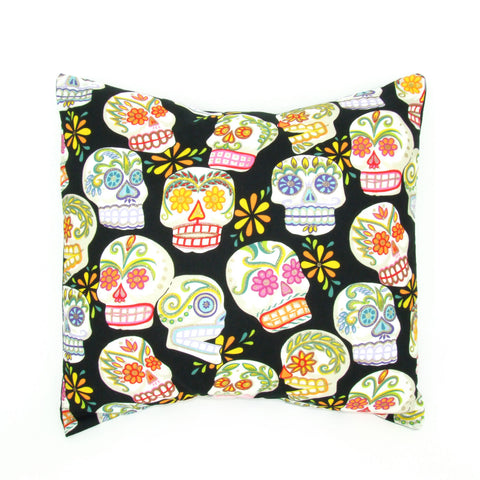 Sugar Skulls Day of the Dead  Pillow Cover  18 x 18 #P240
