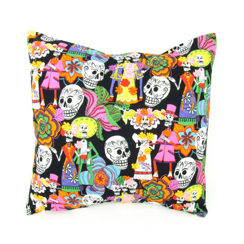 Novios Day of the Dead  Pillow Cover 18 x 18 #P207