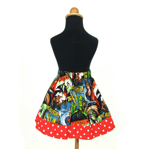 Monsters Girls Skirt #GS-712