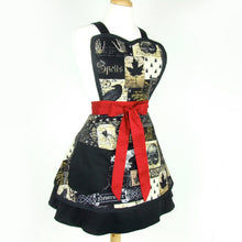 Load image into Gallery viewer, Nevermore Edgar Allen Poe Inspired  2 Skirt Apron #A-2TE55