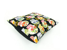 Load image into Gallery viewer, Sugar Skulls Day of the Dead  Pillow Cover  18 x 18 #P240