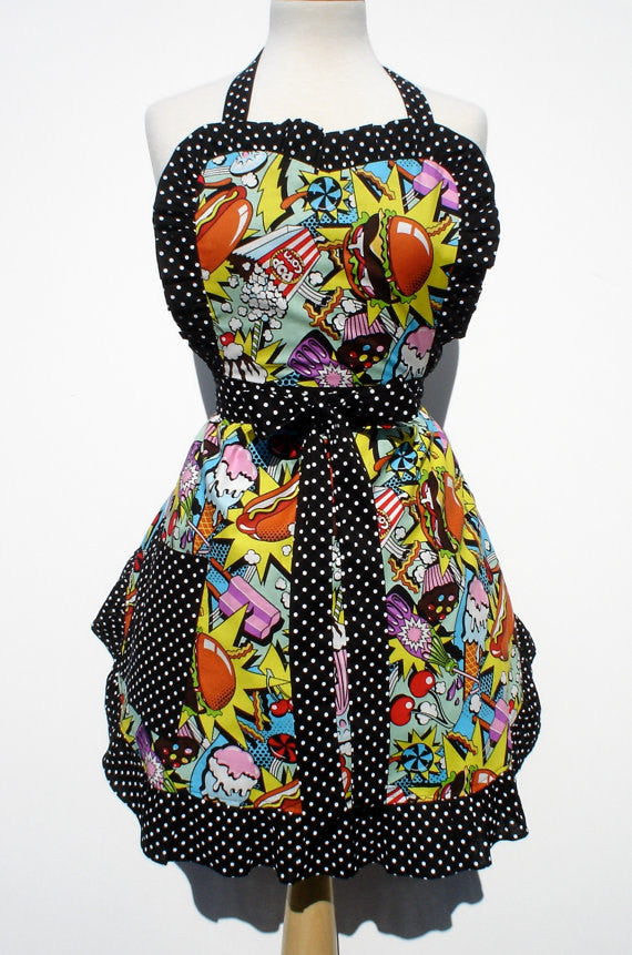 Pop Art Snack Apron #A943