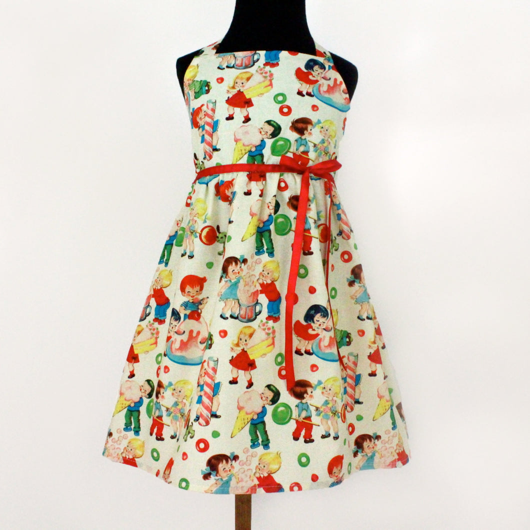 Vintage Candy Girls Dress #GD-V208