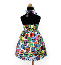 Load image into Gallery viewer, Luchador Girl's Dress #GD-390
