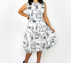 Day of the Dead Paseo de Muertos Dress #DDP-815