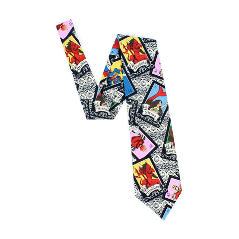 Mexican Loteria Men's tie #T-L903
