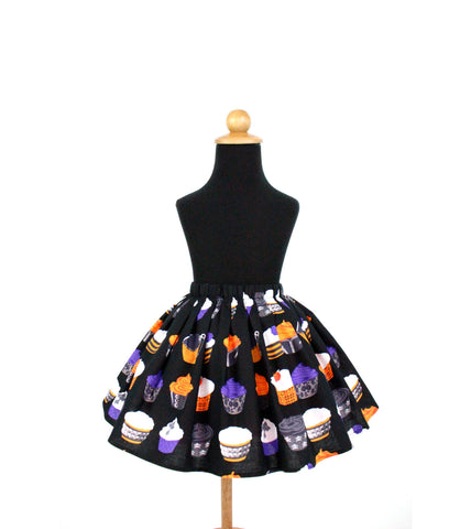 Girl's Cupcakes Aline Skirt #GS-738