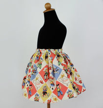 "Load image into Gallery viewer, Girl's ""Western Fun"" Aline Skirt #GS-736"