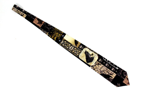 Edgar Allen Poe Inspired Men's tie #T-E909
