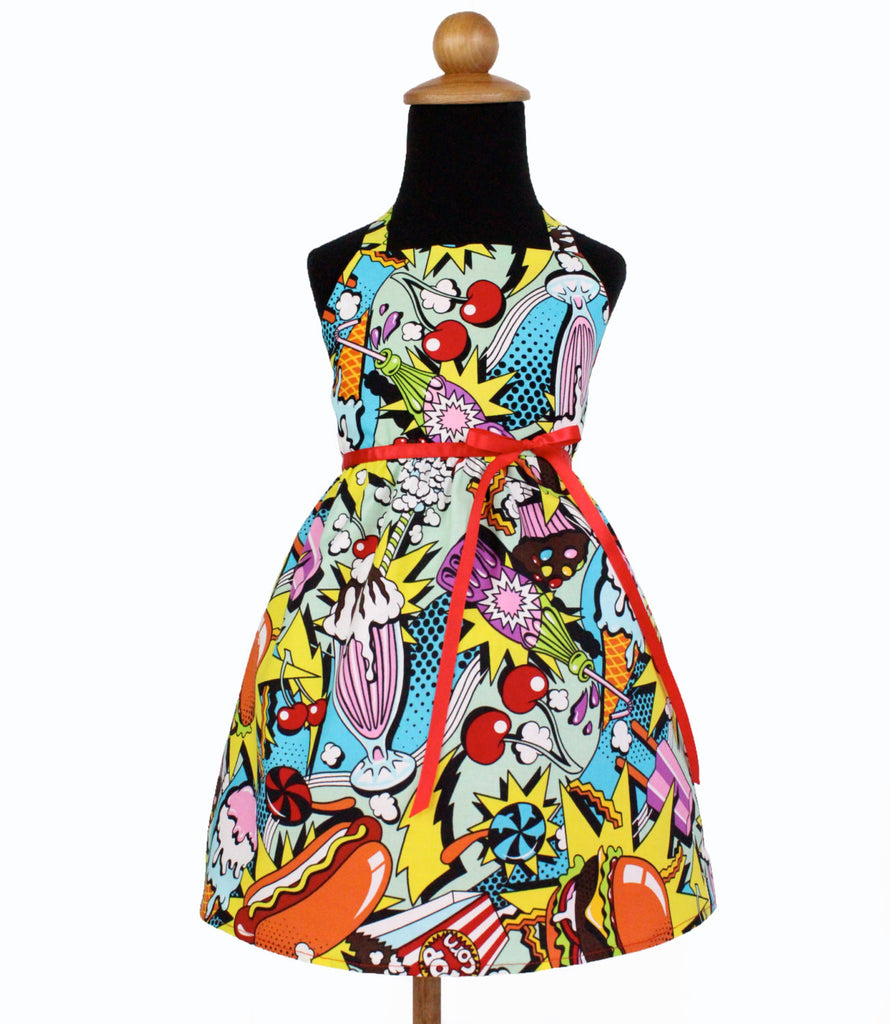 Girl's 1950's Diner Dress # GD-H393