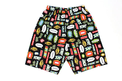 Boy's Comic Superhero Shorts BS-C21