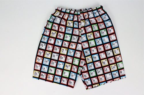 Boy's Scientific Elements Shorts# BS-P23