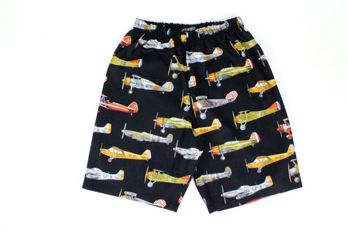Boy's Vintage Airplanes Shorts# BS-A25