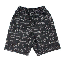 Load image into Gallery viewer, Boy's Black Geometry Shorts# BS-G24