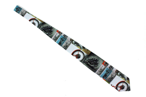 Cafe Rider Motorcycles Men's Tie #T-M901