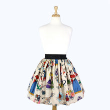 Load image into Gallery viewer, Colorful Elastic Frida Portrait Skirt # S-AP646