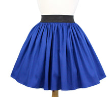 Load image into Gallery viewer, Electric Cobalt Blue A-line Pleated Skirt #S-AP644