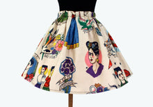 Load image into Gallery viewer, Girl's Beige Colorful Frida Skirt #GS-F480