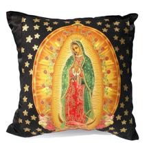 Load image into Gallery viewer, Pillow Mexican Virgin Mary Guadalupe Throw Pillow #P201