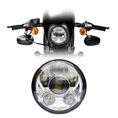 "5-3/4"" Harley Headlights - 5-3/4"" 6 Pod Daymaker Style LED Harley Headlight"