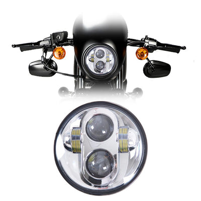 "5-3/4"" Harley Headlights - 5-3/4"" Daymaker Style LED Harley Headlight"