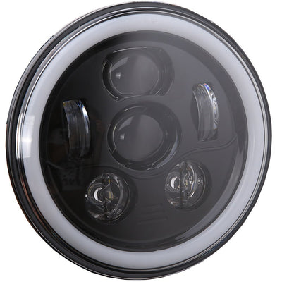 Jeep Wrangler JL LED Halo Headlights 2018-2019 - 6 Pod  (Pair)