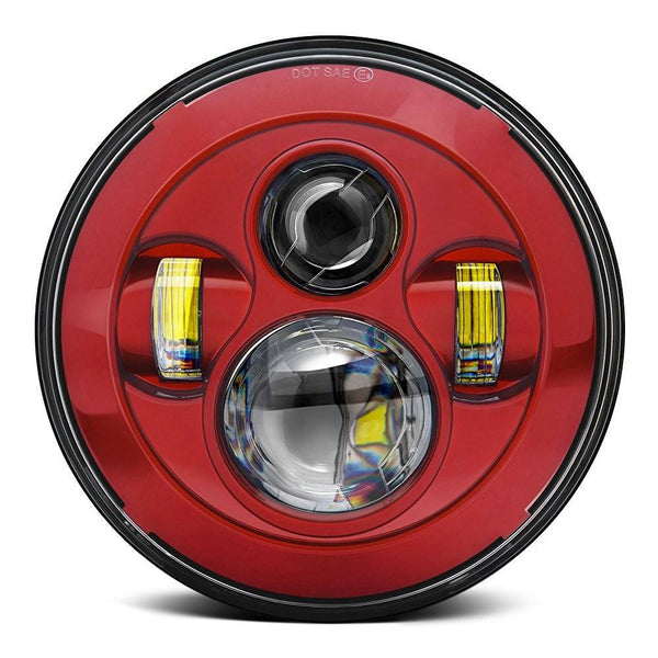 7 Quot Custom Color Daymaker Style Led Harley Headlights