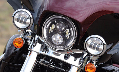 "7"" Harley Headlights - 7"" Daymaker Gen 2 Style LED Harley Headlight"