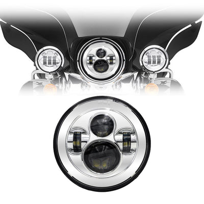 "7"" Harley Headlights - 7"" Daymaker Style LED Harley Headlights"