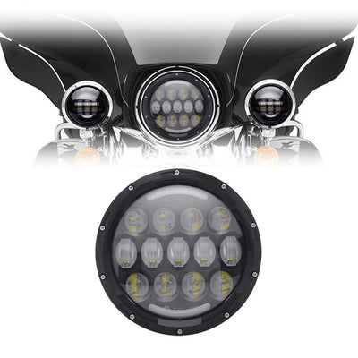 "7"" Harley Headlights - 7"" Honeycomb LED Harley Headlight"