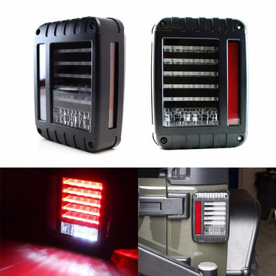 Linear 07 17 Jeep Wrangler JK LED Tail Lights