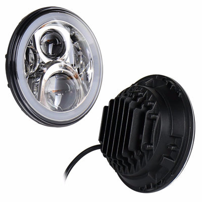 Jeep Wrangler JL LED Halo Headlights 2018-2019 - 4 Pod Gen2 Halo (Pair)
