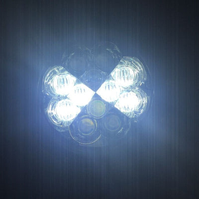 "7"" Blue Clover LED Harley Headlight"