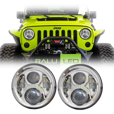 Jeep Wrangler LED Headlights JK/JKU/TJ 1997-2018 - Gen2 4 Pod (Pair)