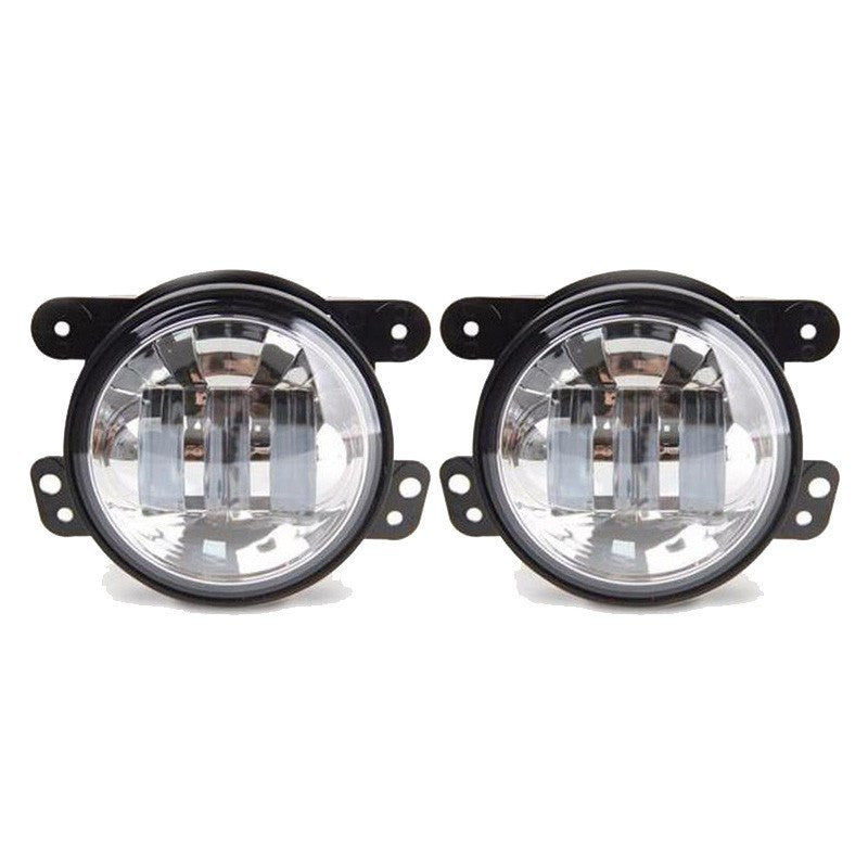 jk drl ultra jeep xkglow p back switchback led bright email halo photo dual light larger wide switch lights turn lighting with fog angle view htm