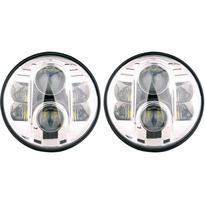 Jeep Headlights - 7 Inch Round BB LED Headlights (Pair) - Jeep Wrangler JK/TJ/LJ/CJ