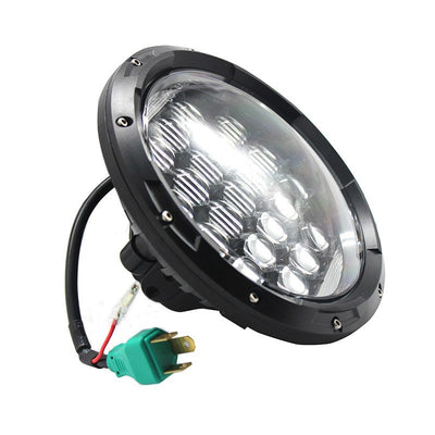 Jeep Headlights - 7 Inch Round Bugeye Gen2 LED Headlights (Pair) - Jeep Wrangler JK/TJ/LJ/CJ
