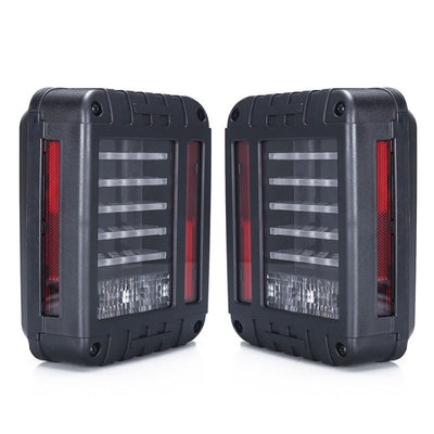 Jeep Tail Lights - Linear 07-16 Jeep Wrangler JK LED Tail Lights