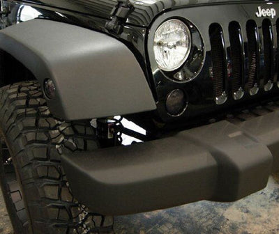 Jeep Turn Signals - 07-16 Jeep Wrangler JK LED Smoked Turn Signal Set