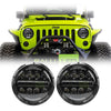Jeep Wrangler LED Headlights JK/JKU/TJ 1997-2018 - Bugeye Bar (Pair)