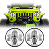 Jeep Wrangler LED Headlights JK/JKU/TJ 1997-2018 - BB (Pair)