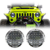 Jeep Wrangler LED Headlights JK/JKU/TJ 1997-2018 - Bugeye Gen2 (Pair)