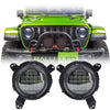 Jeep Wrangler JL LED Headlights 2018-2019 - Bugeye Gen2 (Pair)